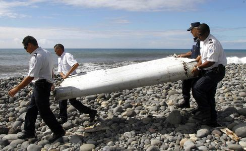 Aircraft Piece Found on France's Reunion Island