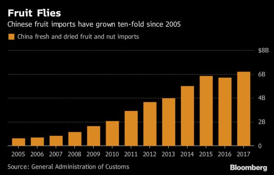 Trump Trade Winds Blow Egypt Oranges to Shanghai Fruit Shops