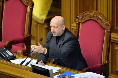 Ukraine's Acting President Oleksandr Turchynov