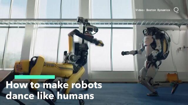 Making Robots Dance Like Humans