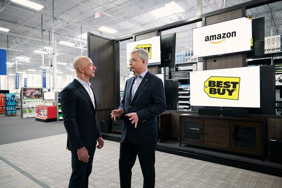 Amazon's Top-Selling Television Comes Via Its Frenemy Best Buy