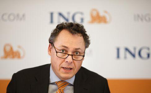 ING Groep NV CEO Ralph Hamers