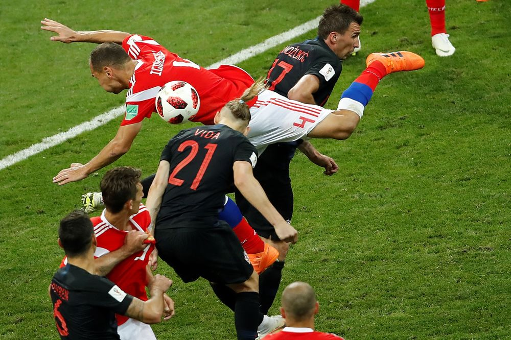 Croatia Tops Russia in Penalty Shootout  World Cup Roundup 278ab0b3e