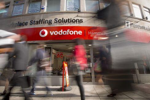 Vodafone Gains