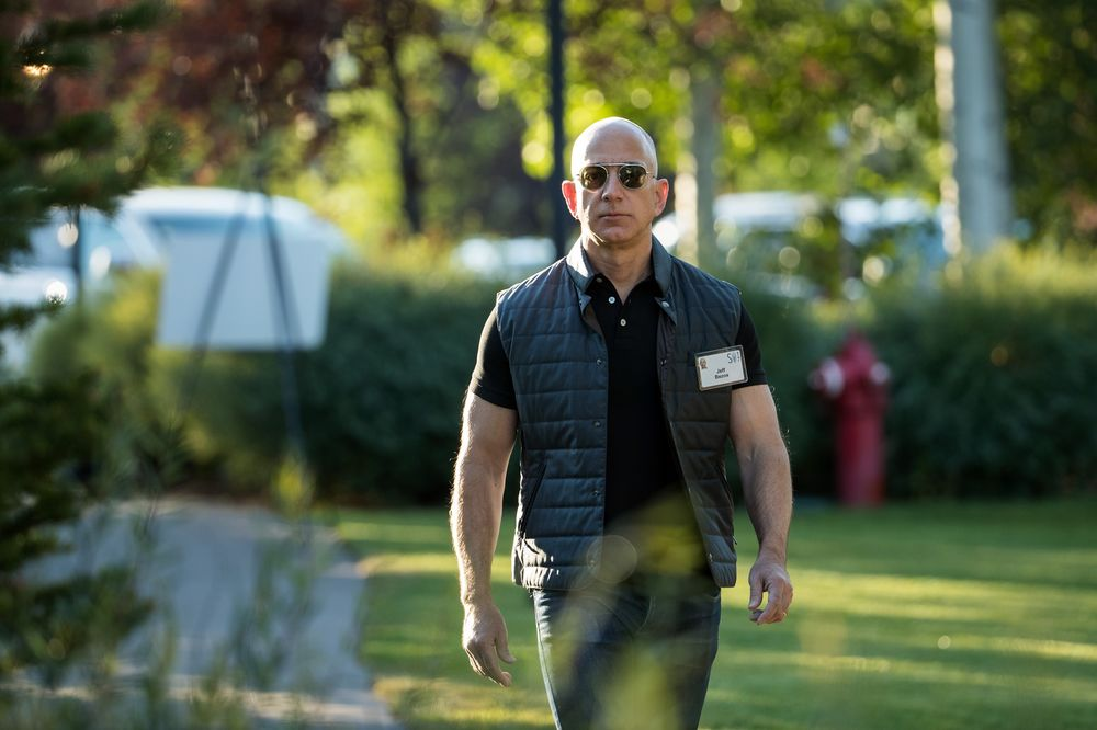 Payback for Bezos Has No Limit