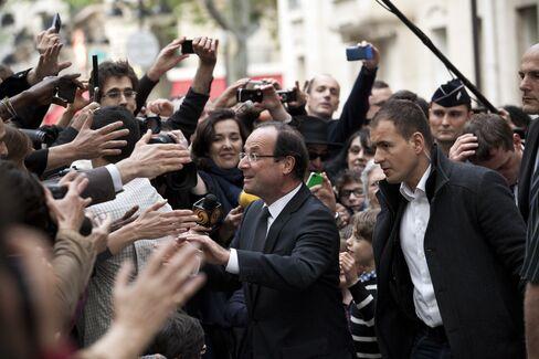 France's President-elect Francois Hollande,