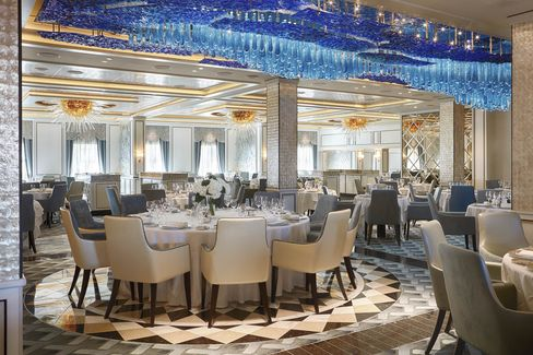 Compass Rose, the flagship restaurant.