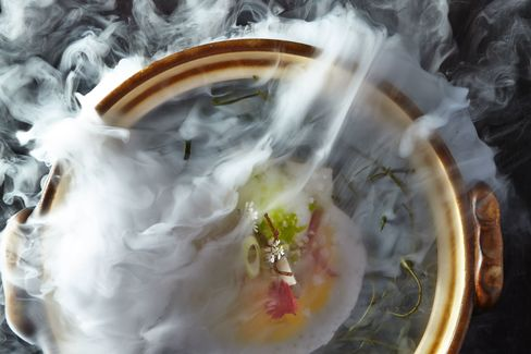 A dish from Alinea.