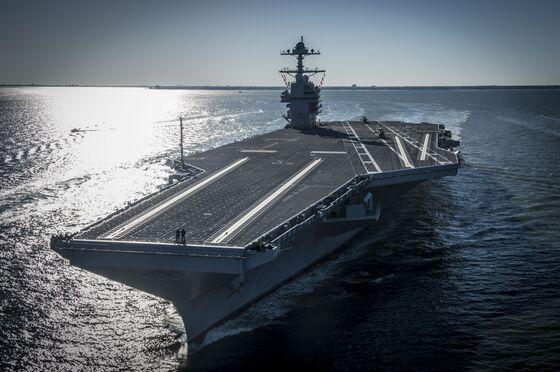 Navy Boss to Trump: 'Fire Me' If $13 Billion Carrier Isn't Fixed