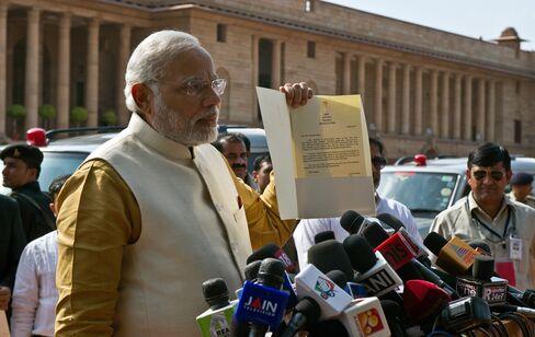 Prime Minister Designate Narendra Modi