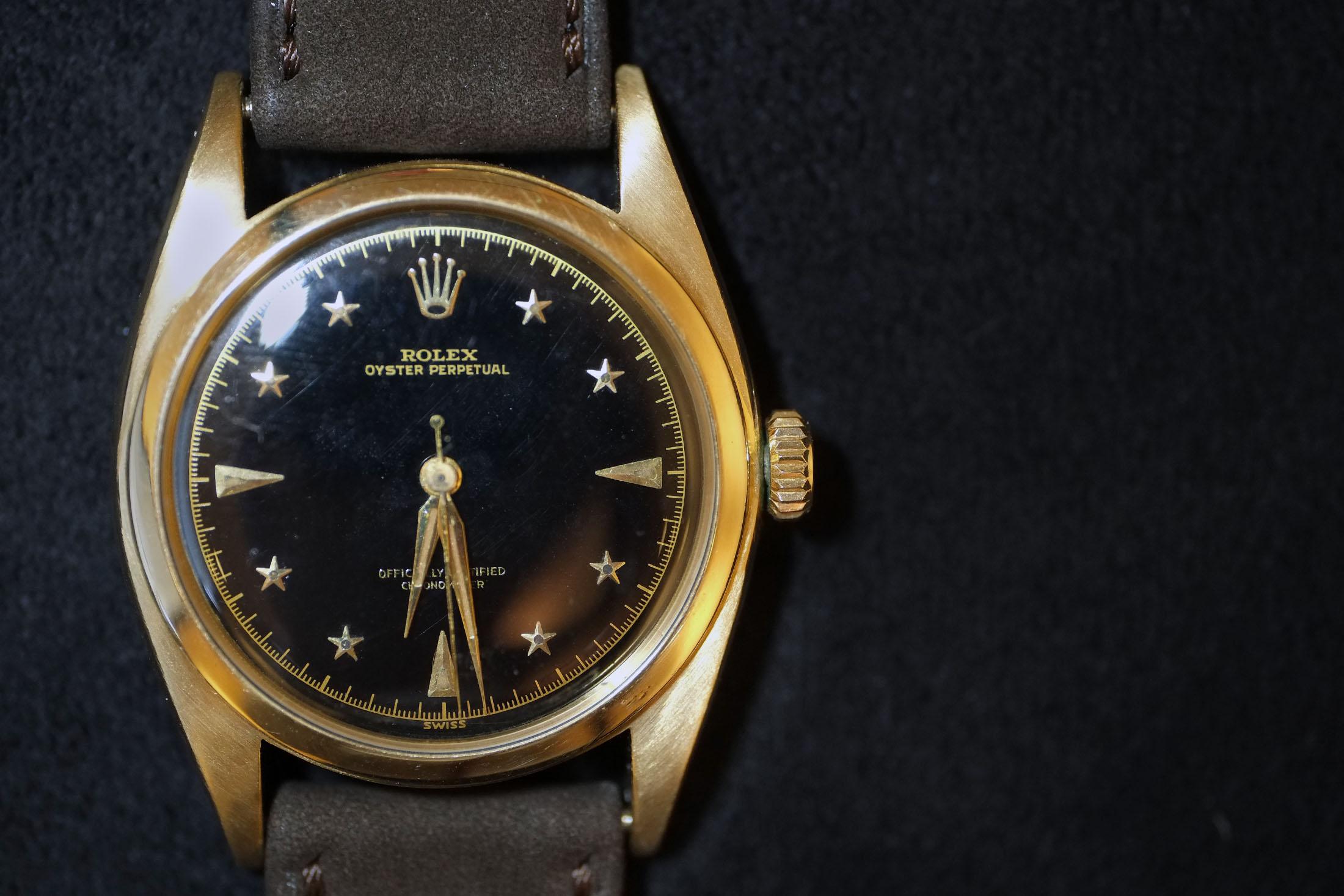 Rolex Black Stelline (Lot 158)