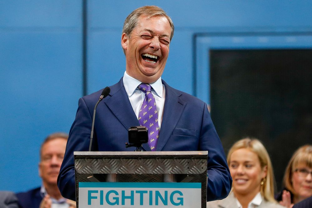 Nigel Farage Is Winning the Brexit Cyber War