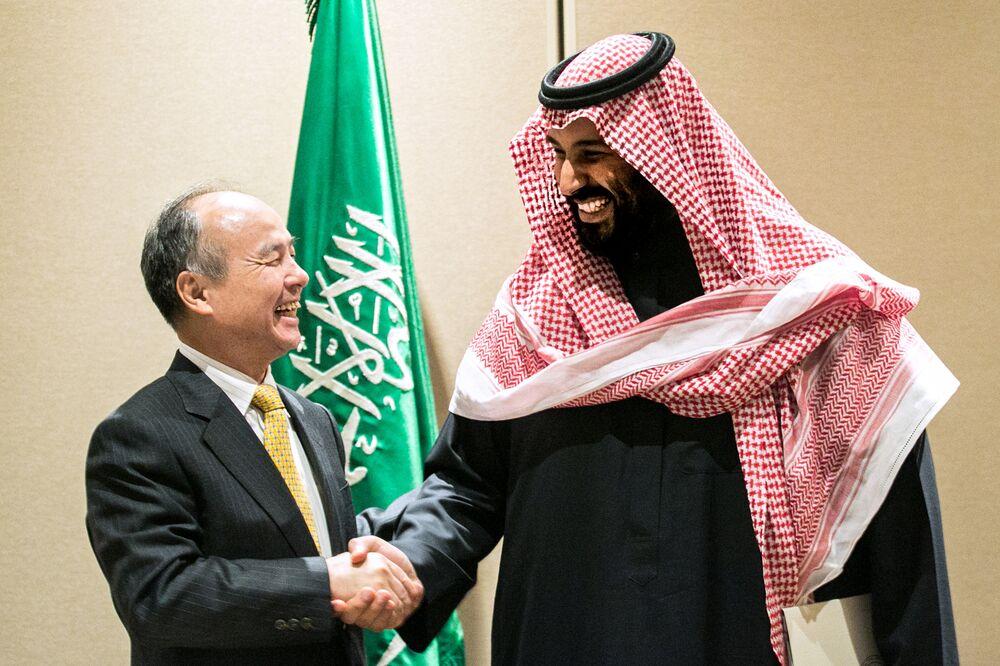 Nycs Bold Gamble Spend Big On >> Mohammed Bin Salman Bloomberg Interview 45b More On Softbank