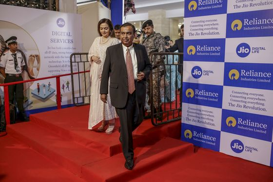 Ambani's Big Steps Look Tame to Investors After Stock Doubles