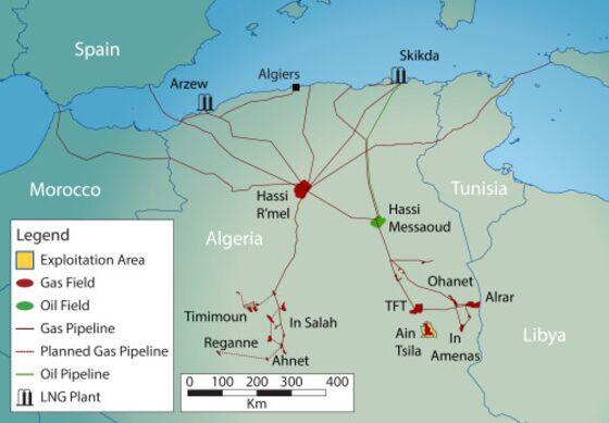 Ex-Deutsche Bank Trader Moskov Says Algeria Seizes Gas Asset