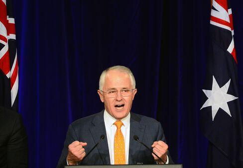 Malcolm Turnbull speaks in Sydney on Saturday, July 2.