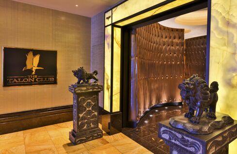 An interior at the Cosmopolitan.
