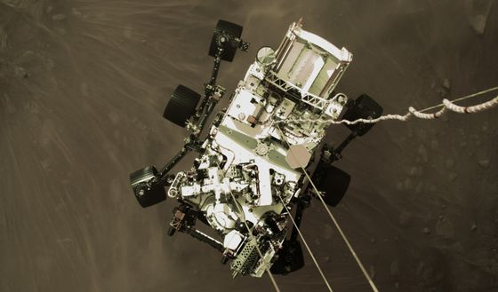 Watch the Dramatic Mars Rover Landing in High-Definition Video