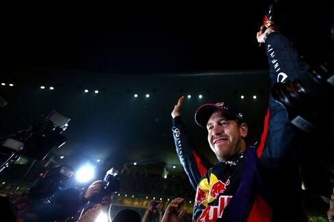 Racecar Driver Sebastian Vettel