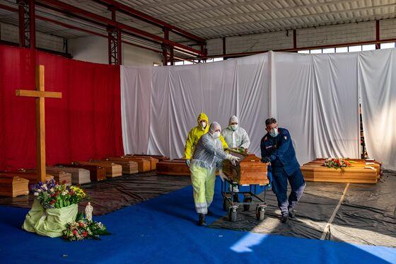 Europe's Slowing Virus Deaths Bolster Leaders on Lockdowns