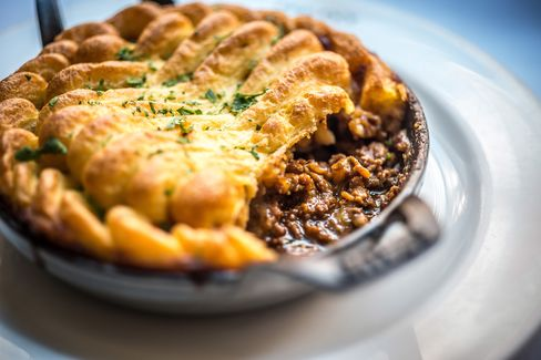 Shepherd's pie has long featured on a menu, which focuses on comfort food.