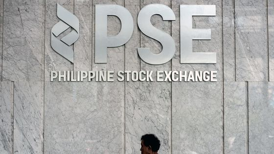 Philippine Stocks Lead Declines in Asia Amid Surge in Infections