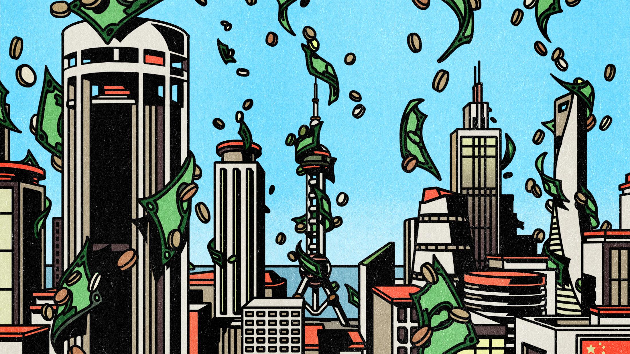 berkaitan dengan Taktik yang Digunakan Orang untuk Mendapatkan Uang Mereka Keluar dari Tiongkok