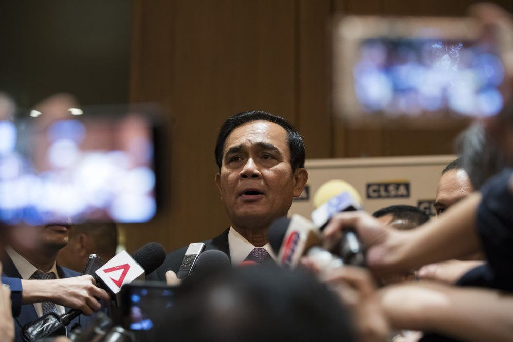 Risk of Political Disarray Stalks Thai Economy as Vote Nears