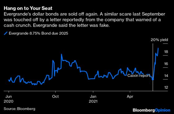 Evergrande Wants You to Stay Calm and Buy Its Bonds