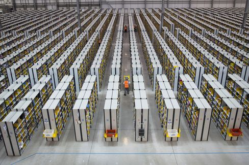 Amazon.com Inc.'s Fulfillment Center in Rugeley