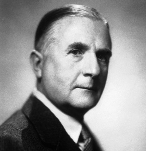 The Bank of England Governor from 1944 to 1949, Lord Thomas Catto.