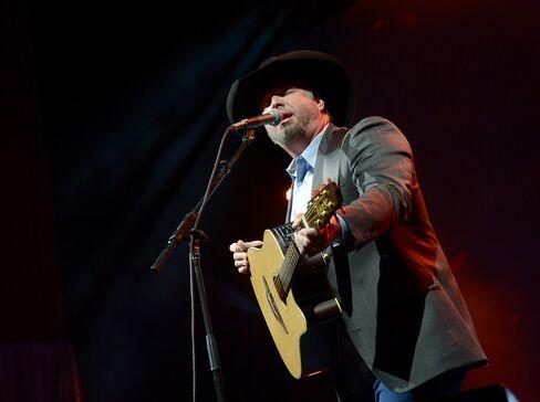 U.S. Country Singer Garth Brooks