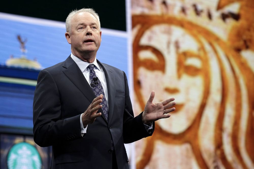 Starbucks Paid Johnson $11 5 Million for His First Year as