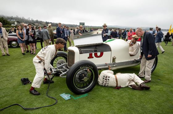 All the Best Cars as thePebble Beach Concours d'Elegance Returns