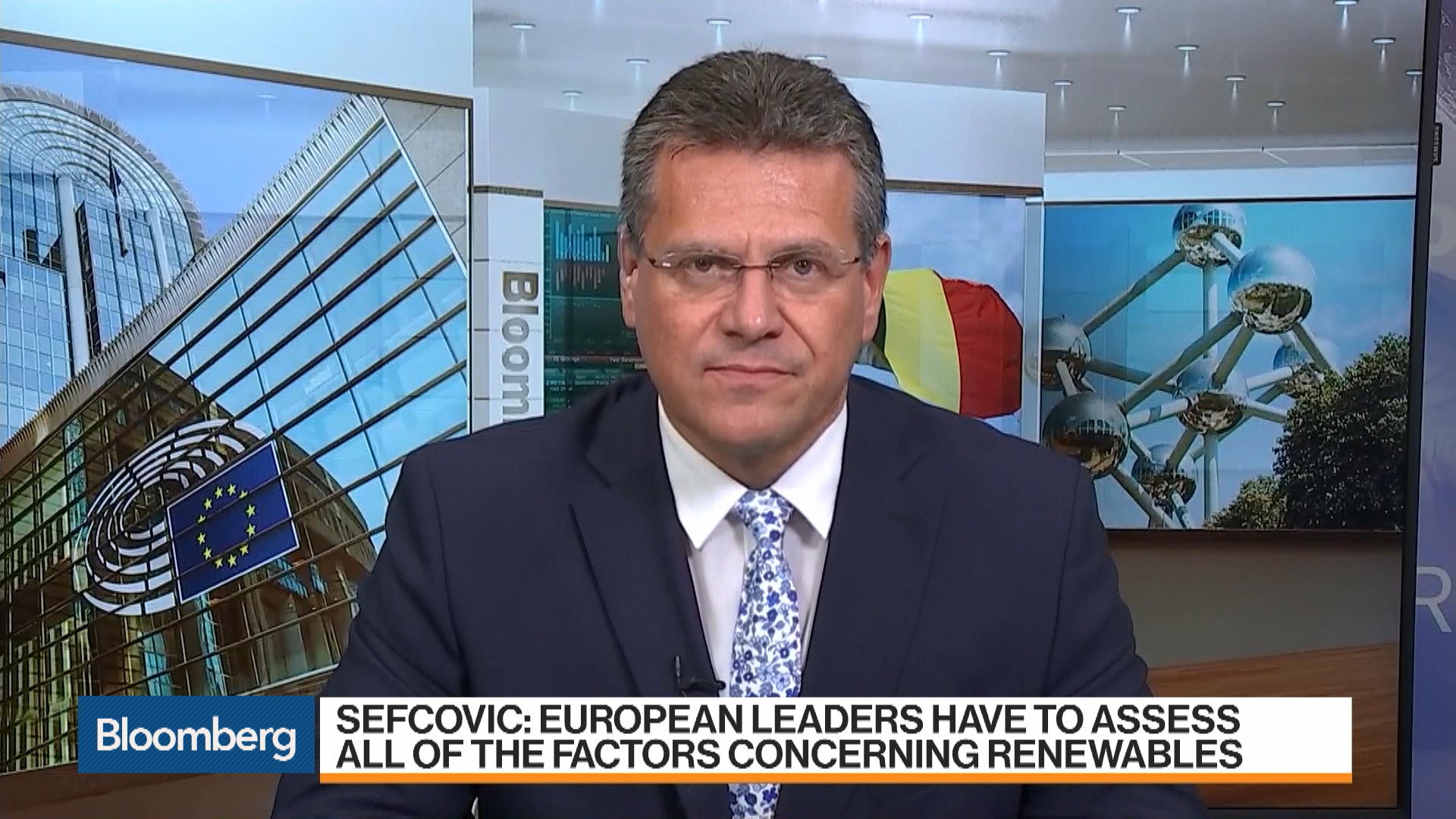 Europe's Energy Chief Says Fighting Climate Change Is an Investment