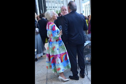 Helen Mirren, former Canadian Prime Minister Brian Mulroney and Taylor Hackford, Mirren's husband.