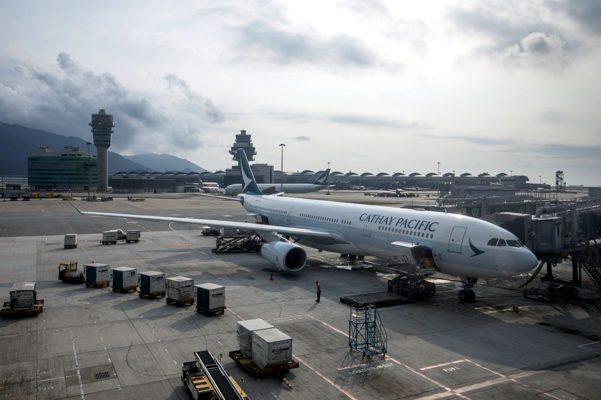 Chinese State-Run Firms Tell Workers Not to Fly Cathay Pacific