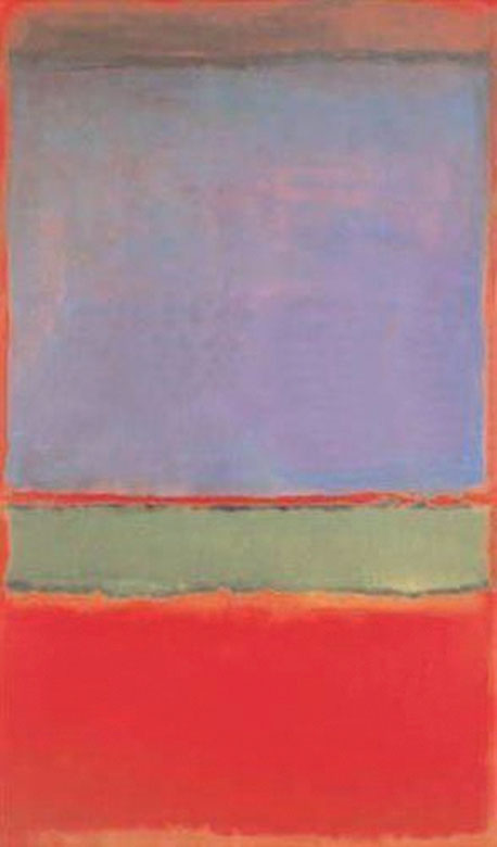 Dmitry Rybolovlev alleges that Yves Bouvier misled him about the price of Mark Rothko's No. 6 (Violet, Green and Red). The Russian shelled out 140 million euros, the highest amount ever paid for a work by the American painter.