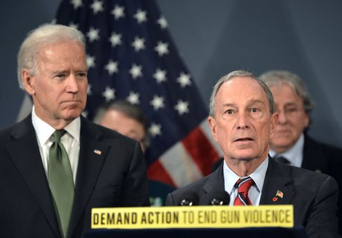 U.S. VP Joe Biden & NY Mayor Michael Bloomberg