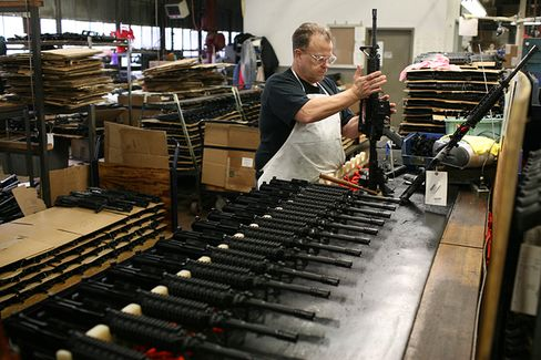 Gun Makers' Silence Won't Deter a Sales Surge