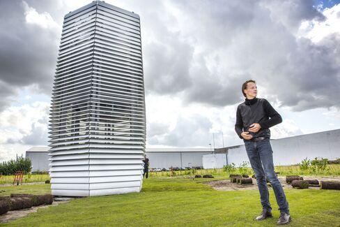 Dutch artist, entrepreneur and designer Daan Roosegaarde