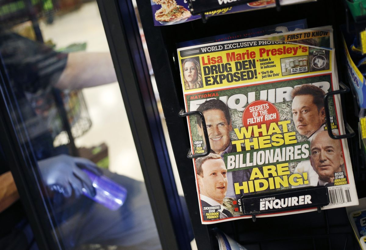 National Enquirer Is Put Up for Sale in Wake of Bezos Scandal