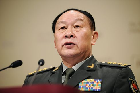 Chinese General Liang Guanglie