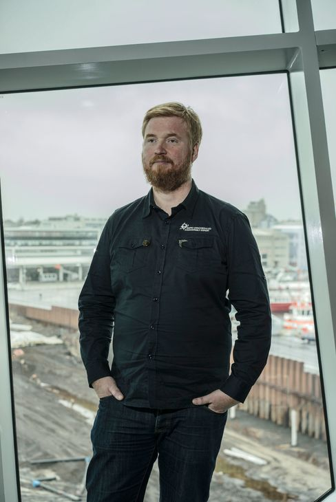 Hilmar Veigar Pétursson, chief executive officer of CCP, creator of Eve Online.