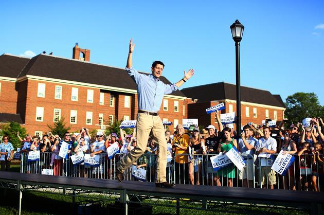 Paul Ryan, Republican VP candidate
