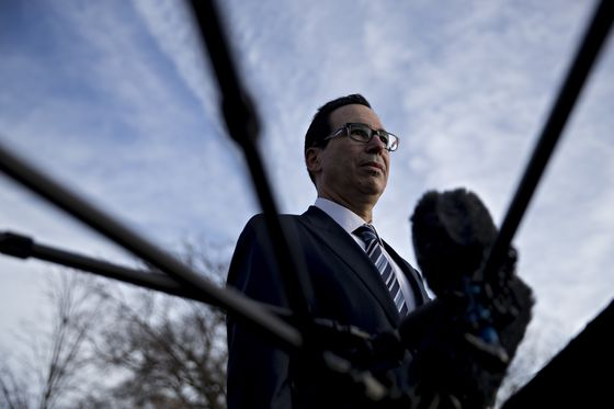 Trump Says He's Confident in 'Very Talented' Mnuchin After Slide