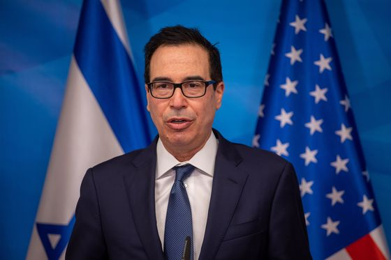 Mnuchin Plans Early Return to U.S. From Middle East Trip