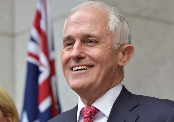Turnbull on the Ropes as Australia Rival Readies New Challenge