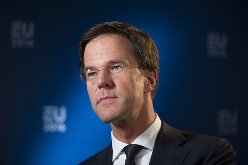 Netherland's Prime Minister Mark Rutte Interview
