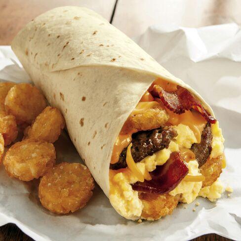 Burger King's Egg-Normous Burrito.